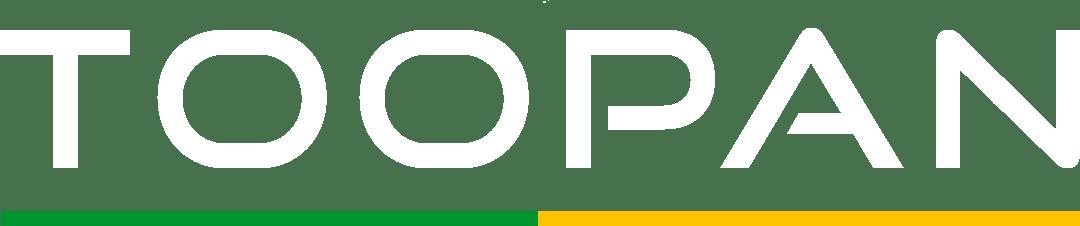 Logo Toopan Games (alt branco)